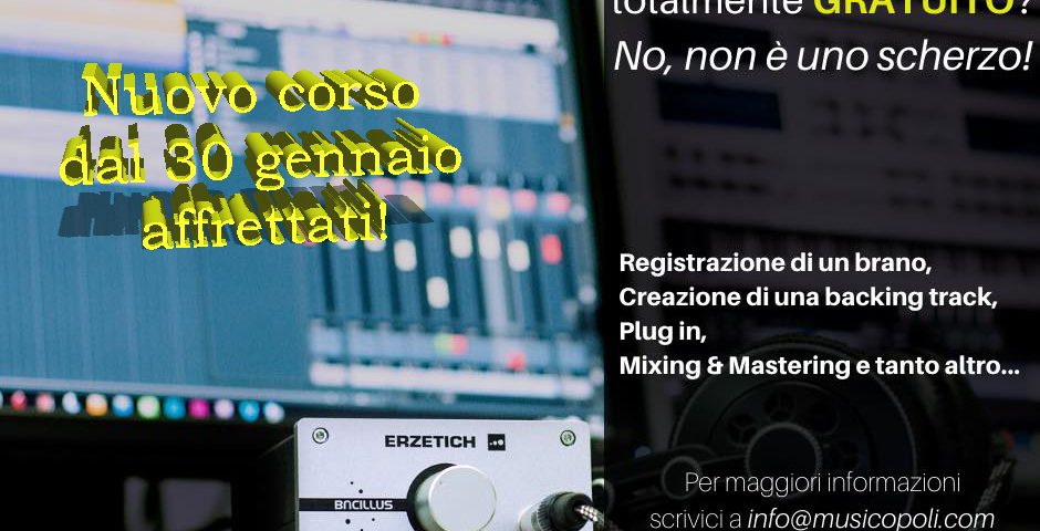 music production30 gennaio