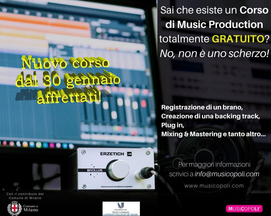 music production30 gennaio